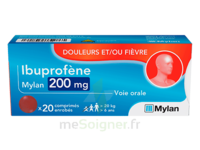 Ibuprofene Mylan 200 Mg, Comprimé Enrobé à SOUMOULOU