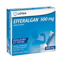 Efferalgan 500 Mg Glé En Sachet Sach/16 à SOUMOULOU