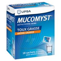 Mucomyst 200 Mg Poudre Pour Solution Buvable En Sachet B/18 à SOUMOULOU