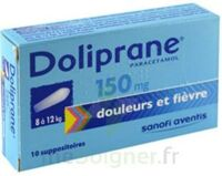 Doliprane 150 Mg Suppositoires 2plq/5 (10) à SOUMOULOU
