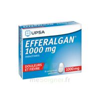 Efferalgan 1000 Mg Comprimés Pelliculés Plq/8 à SOUMOULOU