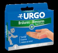 Urgo Brulures-blessures Petit Format X 6 à SOUMOULOU