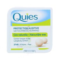 Quies Protection Auditive Cire Naturelle 8 Paires à SOUMOULOU