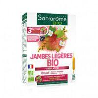 Santarome Bio Jambes Légères Solution Buvable 20 Ampoules/10ml à SOUMOULOU