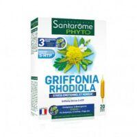 Santarome Bio Griffonia Rhodiola Solution Buvable 20 Ampoules/10ml à SOUMOULOU