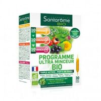 Santarome Bio Programme Ultra Minceur Solution Buvable 30 Ampoules/10ml à SOUMOULOU