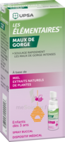 Les Elementaires Spray Buccal Maux De Gorge Enfant Fl/20ml à SOUMOULOU