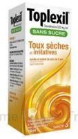 Toplexil 0,33 Mg/ml Sans Sucre Solution Buvable 150ml à SOUMOULOU