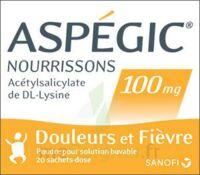 Aspegic Nourrissons 100 Mg, Poudre Pour Solution Buvable En Sachet-dose à SOUMOULOU