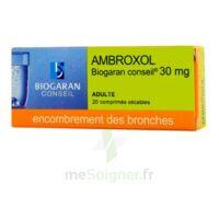 Ambroxol Biogaran Conseil 30 Mg, Comprimé Sécable à SOUMOULOU