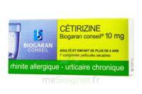 Cetirizine Biogaran Conseil 10 Mg, Comprimé Pelliculé Sécable à SOUMOULOU