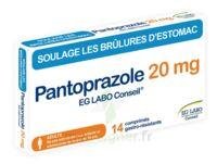 Pantoprazole Eg Labo Conseil 20 Mg Cpr Gastro-rés Plq/14 à SOUMOULOU