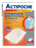 Actipoche Patch Chauffant Douleurs Musculaires B/2 à SOUMOULOU