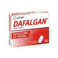 Dafalgan 1000 Mg Comprimés Pelliculés Plq/8 à SOUMOULOU