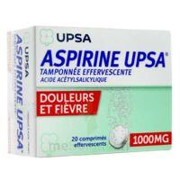 Aspirine Upsa Tamponnee Effervescente 1000 Mg, Comprimé Effervescent à SOUMOULOU