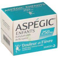 Aspegic Enfants 250, Poudre Pour Solution Buvable En Sachet-dose à SOUMOULOU