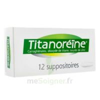 Titanoreine Suppositoires B/12 à SOUMOULOU