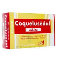Coquelusedal Adultes, Suppositoire à SOUMOULOU