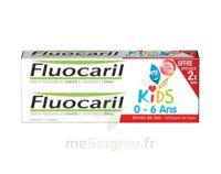 Fluocaril Kids Gel Dentifrice Fraise 0/6ans 2*50ml à SOUMOULOU