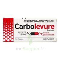 Carbolevure Gélules Adulte Plq/30 à SOUMOULOU