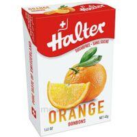 Halter Bonbon Sans Sucre Orange 40g à SOUMOULOU