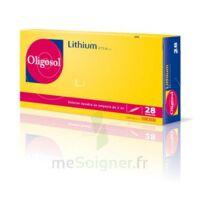 Oligosol Lithium Solution Buvable En Ampoule Ou En Récipient Unidose 28amp/2ml à SOUMOULOU