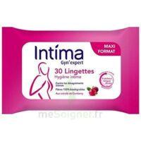 Intima Gyn'expert Lingettes Cranberry Paquet/30 à SOUMOULOU