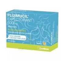 Fluimucil Expectorant Acetylcysteine 600 Mg Glé S Buv Adultes 10sach à SOUMOULOU