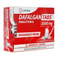 Dafalgantabs 1 G Cpr Pell Plq/8 à SOUMOULOU