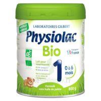 Physiolac Bio 1 Lait En Poudre B/800g à SOUMOULOU